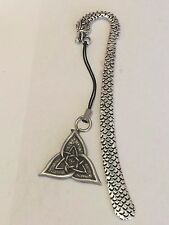 CELTIC TRIANGLE DR55 Made From Fine English Pewter On A DRAGON Bookmark
