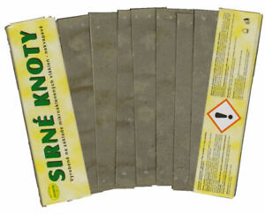 Schwefelsschnitten / Streifen 400 g Imker Wachsmotte Desinfektion Bienen Imkerei