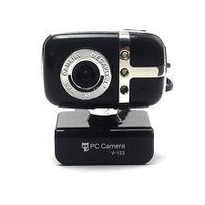 USB 2.0 HD Webcam Web Cam Night Vision Camera For PC Laptop Desktop Computer
