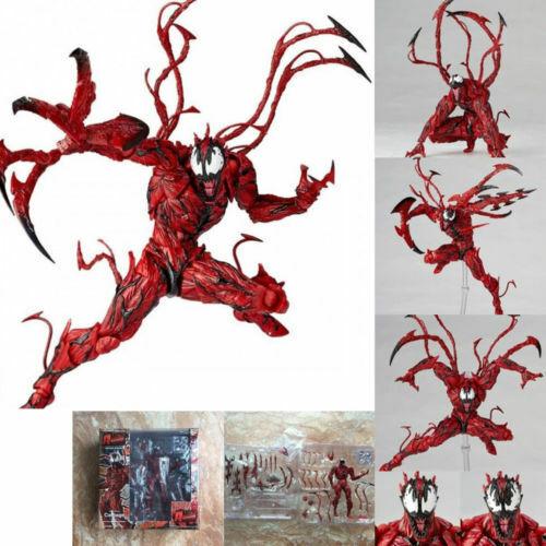 Marvel Carnage Red Venom Edward Brock Action Figure Model Bday Toys Gift Collect