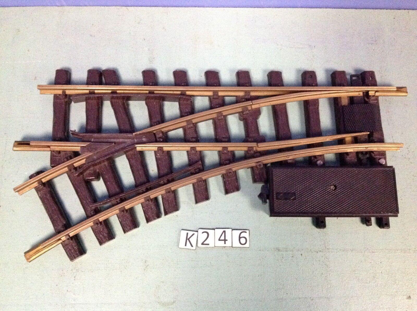 (K246) playmobil 1 aiguillage électrique gauche  LGB train wagon ref 4553  tutti i prodotti ottengono fino al 34% di sconto