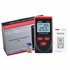 Digital Wood Moisture Meter Pinless For Drywall Firewood Paper Detects Up To