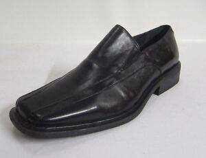 Ysam al Supérieurs Prix Malvern Noir À Hommes Super Enfiler Chaussures Cuir rrdqCwP