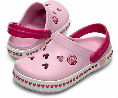 Crocs Kid's Girl's MICKEY MINNIE MOUSE