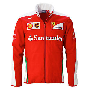 Sale-2016-Ferrari-Formula-One-F1-Mens-SF-Team-Softshell-Jacket-Coat-Red-S-XXL