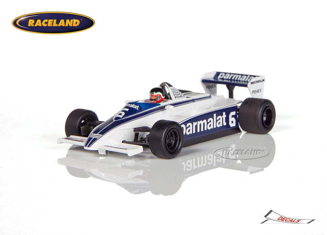 Brabham bt49c Cosworth v8 f1 Parmalat GP Monaco 1981 Hector Rebaque, SPARK 1 43