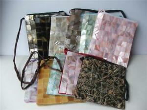 JIVANA MOTHER OF PEARL SMALL SOULDER BAG BNWT - COLOURS