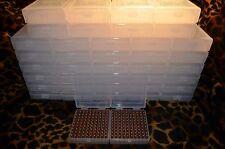 22 lr Ammo Box / Case / Storage (40 PACK) 1000 Rnds of STORAGE (NO AMMO)
