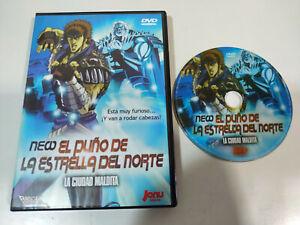 New-El-Puno-de-la-Estrella-del-Norte-La-Ciudad-Maldita-DVD-Espanol-Japones