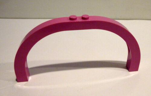 1 x LEGO® 6184 Bogenstein,Brückenstein pink gebraucht wie auf dem Foto.