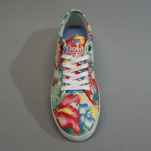 Büten Hibiscus Jasmine Cla131 Ecru Blumen Multi Turnschuhe 37 Gr Sneakers Gola RfnZx