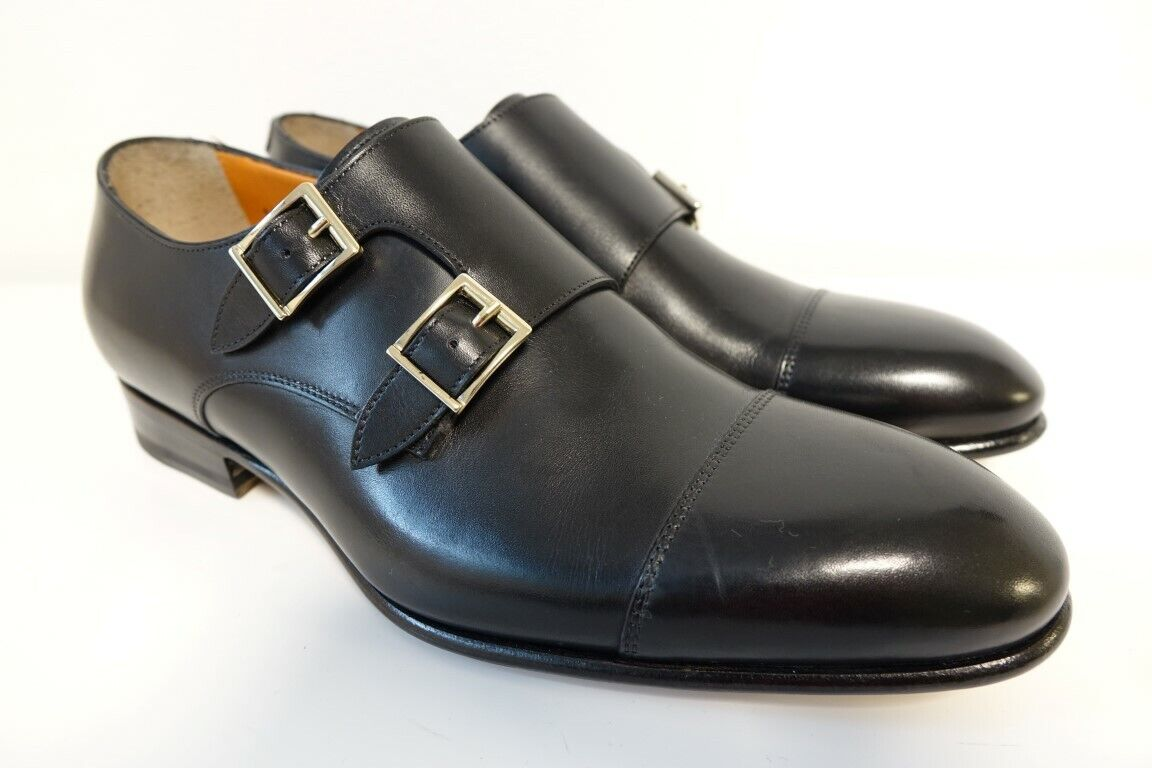 Santoni Chaussures Chaussures Hommes Business Chaussures Taille 5 (39) - NEUF ORIGINAL