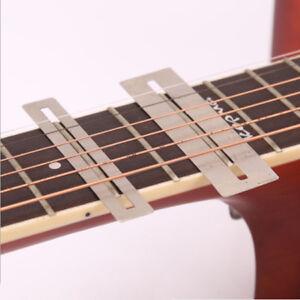 2 PC Guitar Fret Fretboard Protector Guards Repair Tool Tone Capacitor Measurer