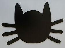CHALKBOARD BLACKBOARD MAGNETIC FRIDGE MEMO BOARD CAT