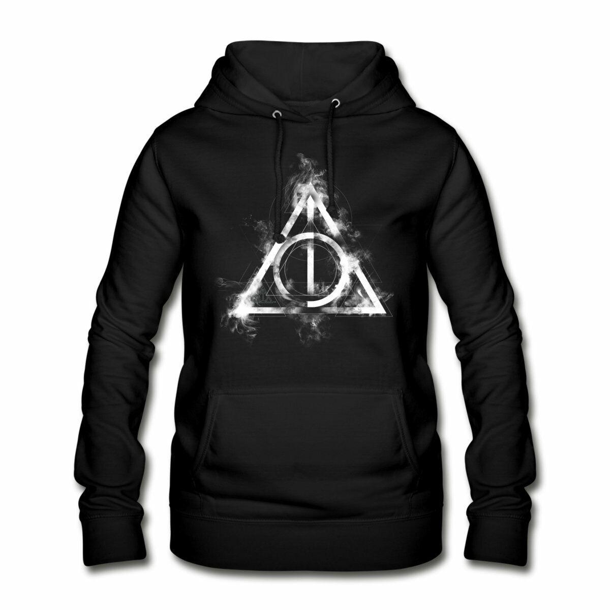 Spreadshirt Harry Potter Die Heiligtümer des Todes Symbol Frauen Hoodie