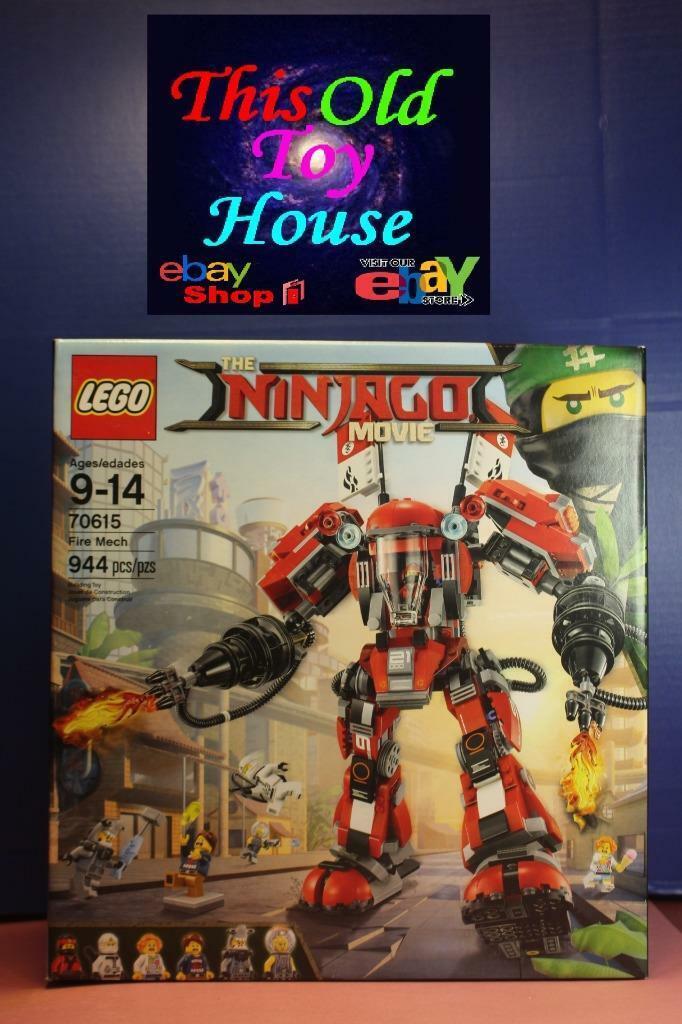 Lego Ninjago 70615 Fire Mech 944 pcs. factory sealed