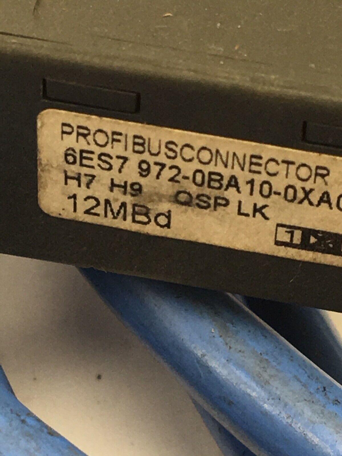 Siemens simatic S7 Profibusconnector 6ES7 972-0BA10-0XA0 //// 6ES7972-0BA10-0XA0