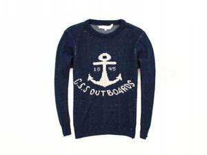 *i D-struct Mens Sweather Anchor Dark Blue M