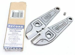 NEW Record Replacement Bolt Cutter Jaws 924H Made In England - Free Delivery