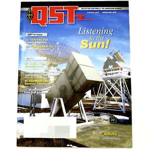 QST-HAM-Amateur-Radio-ARRL-MAGAZINE-FEBRUARY-2013-Shunt-Fed-Tower-80-160-Meter