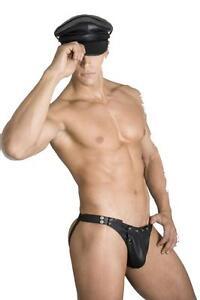 NEW-100-REAL-LEATHER-JOCKSTRAP-leder-underwear-brief-slip-g-string-gay-jock