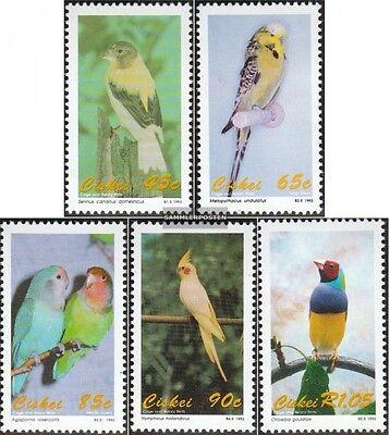 Smart Ciskei 233-237 Mint Never Hinged Mnh 1993 Birds Africa Animal Kingdom