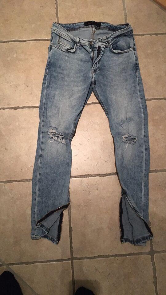 Jeans, Zara, str. 38 – dba.dk – Køb og Salg af Nyt og Brugt