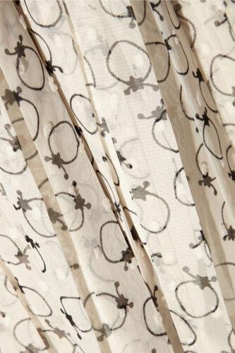 See By Chloé Printed Fil Coupé Chiffon Maxi Skirt UK8// IT40 RRP£325