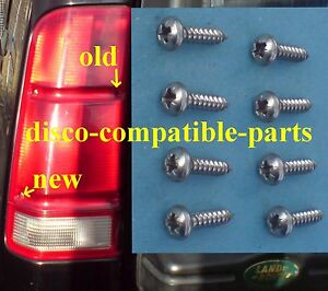 Land-Rover-Discovery-2-Stainless-Steel-Rear-Lens-Screws