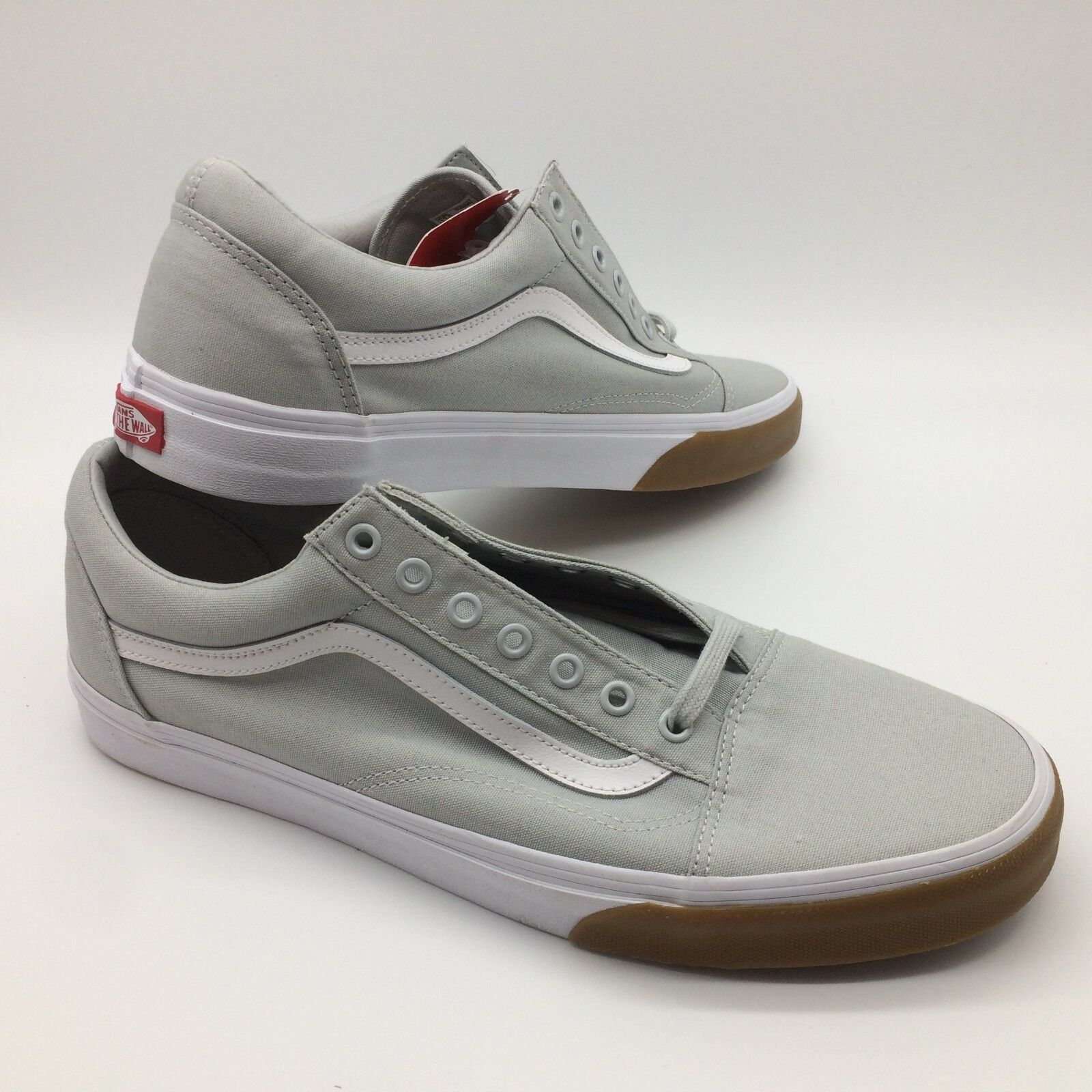 Vans Men's shoes's  Old Skool  (Gum Bumper) GLCIERGRY TRW