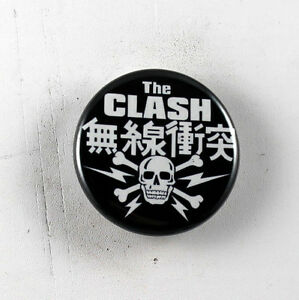 "THE CLASH 1.25"" button pin pinback badge Buy 2 Get 1 Free"