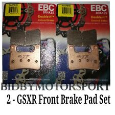 EBC Brake Pads Front Gsxr 600 750 Gsxr600 Gsxr750 Zx-10r 2 Pairs FA379HH