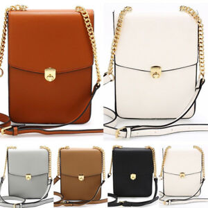 8890634a7d7e LeahWard Women s Flap Twist Lock Cross Body Bag Faux Leather ...
