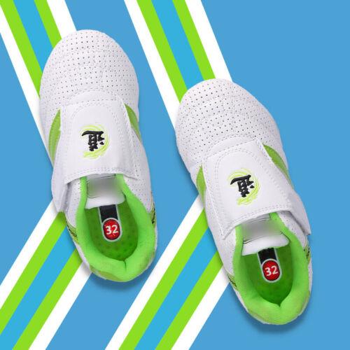 New Taekwondo Shoes Martial Arts Wushu Taichi Training Kung Fu Unisex Kids Adult