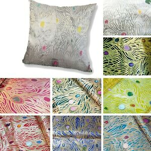 Pillow-Cover-Chinese-Rayon-Brocade-Throw-Seat-Pad-Cushion-Case-Custom-Size-BN6
