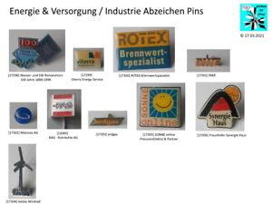 Energie & Versorgung / Industrie Pins  Anstecknadeln Abzeichen AUSSUCHEN