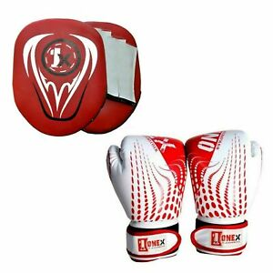 Focus-Pads-Curved-Mitts-Kick-Boxing-MMA-UFC-Exercise-Strike-Punching-Bag-Fitness