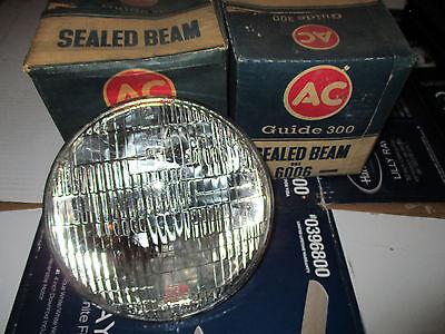 1-Pair T3  6006 6V Head Light Bulb AC 300 Guide Seal Beam