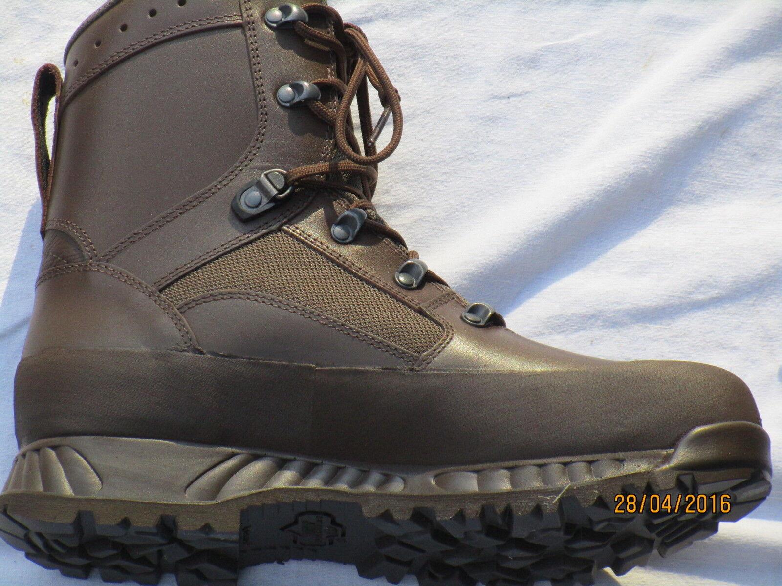 Haix ,Botas Combat High EU42 Liability macho,marrón,MTP,goretex,talla 8 (M) EU42 High / 2c2512
