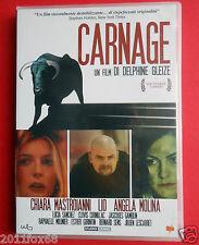 film,dvd,carnage,chiara mastroianni,angela molina,delphine gleize,lucia sanchez