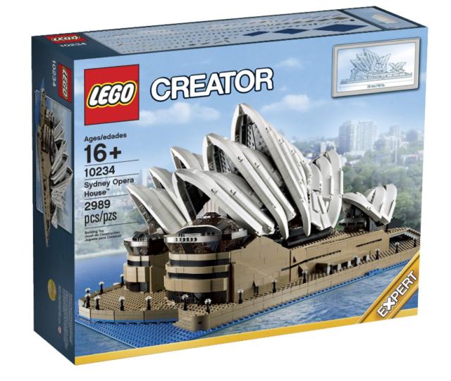 LEGO 10234 Creator Sydney Opera House  BRAND NEW