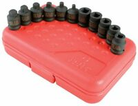 Sunex 3841 3/8-inch Drive Pipe Plug Socket Set, 11-piece, New, Free Shipping
