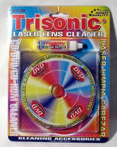 Trisonic Laser Lens Liquid Cleaner for CD DVD Player Ps2 Xbox Disc Radial Kit