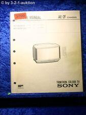 Sony Service Manual KV W2813 /W2812U Color TV (#3700)