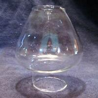 Glass Miniature Oil Lamp Chimney 1 & 1/4 Inch Base Fits Pixie Burners