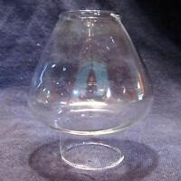 Glass Miniature Oil Lamp Chimney 1 & 1/4 Inch Base Fits Pixie Burners