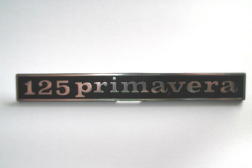 Vespa Emblem Schriftzug 125 Primavera Nuova ET3 PV Heck hinten Rahmen NEU
