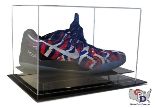 Shoe Display Case Counter or Desk Top by GameDay Display Size 12 and Under USA