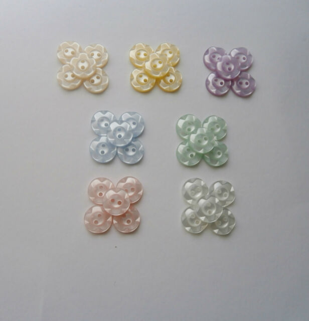 20 Childrens Fruit Gum Buttons Size 22 - choice of Colours