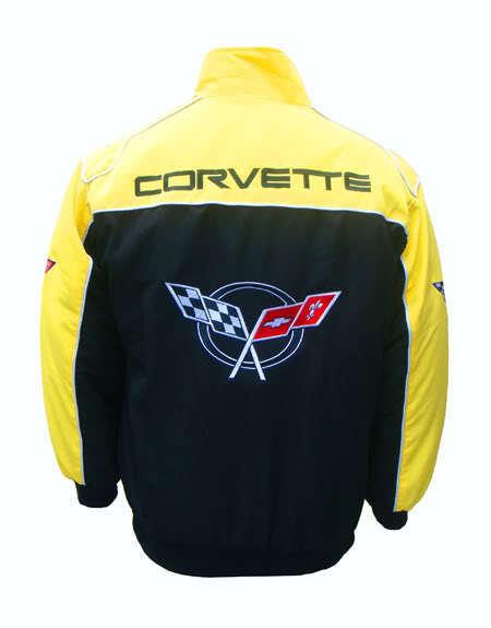 Corvette C5-VESTE-BLOUSON = jaquette. - yeFaible Racing Team tous logo dans brodery